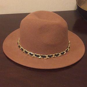 Zara Brown Fedora Hat